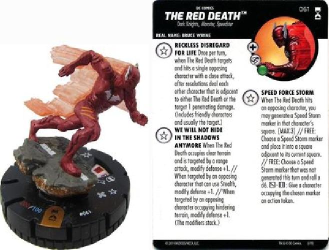 The rot Death  061 Rebirth DC Heroclix NM DC Heroclix  Rebirth
