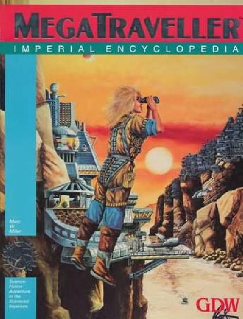 Megatraveller Imperial Encyclopedia Played traveller rpg