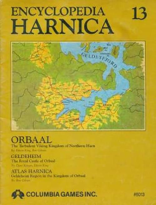 Encyclopedia Harnica 13 softcover module New